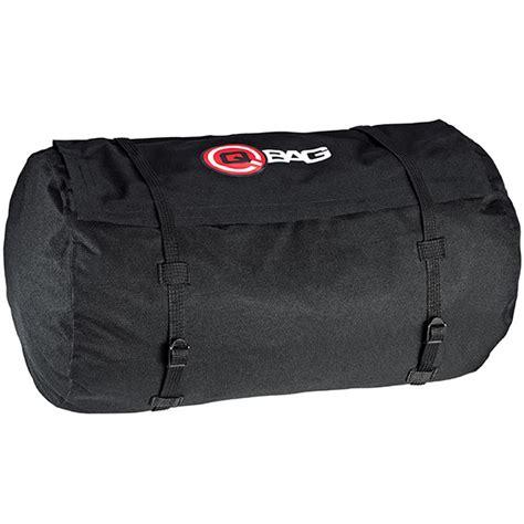 Black Roll Bag qbag motorbike motorcycle touring luggage waterproof roll bag 3 black ebay