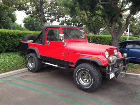 Jeep Cj 8 Sell Used Jeep Cj 8 Scrambler In