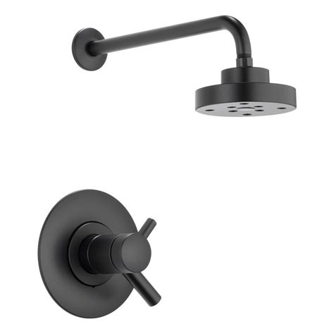 black faucet faucet t60275 bl in matte black by brizo