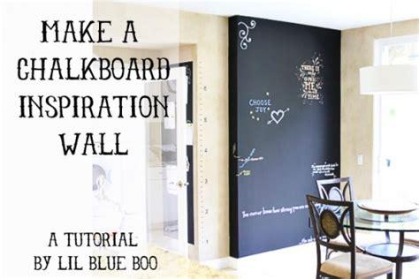 wall inspiration make a chalkboard inspiration wall