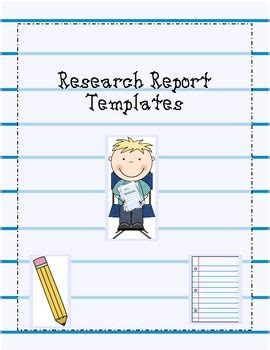 what template is this research report templates templates and what is