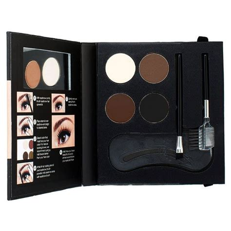 nyx eyebrow kit with stencil for everyone makeup