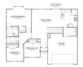 3 Bedroom Rambler Floor Plans by Rambler Ranch House Plans Arts