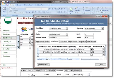 microsoft access basic business accounting template database