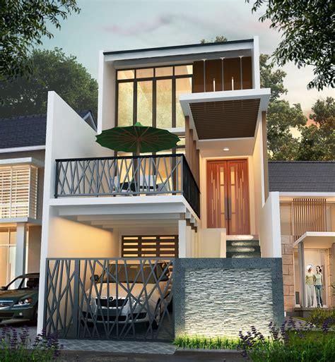 desain rumah     minimalis tiga lantai desain rumah