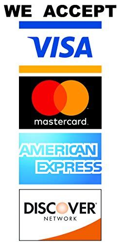 we accept cards sticker template american express credit card for sale only 4 left at 70