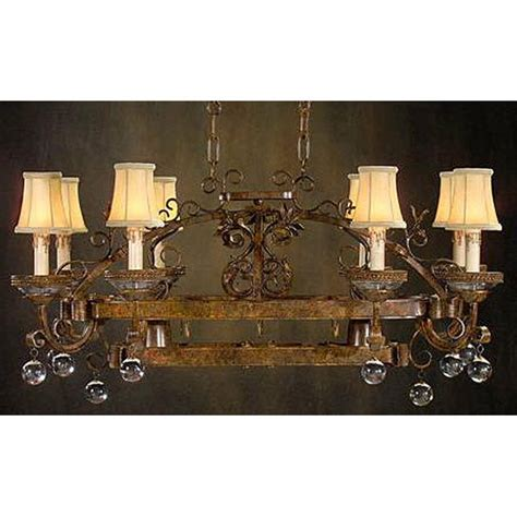 Wrought Iron Island Light Fixture Wrought Iron Island Light Fixture With Shades Storeroom On