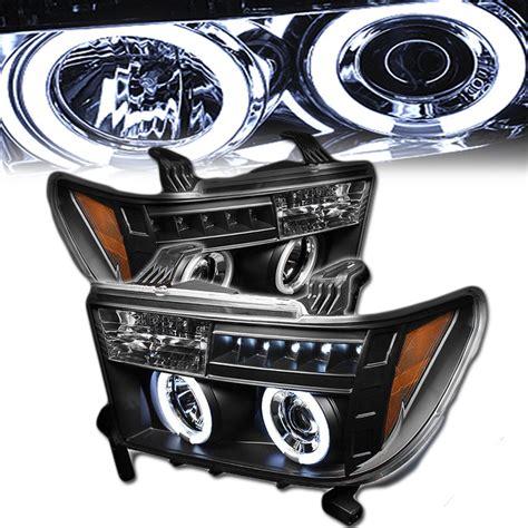 Toyota Tundra Led Headlights 07 13 Toyota Tundra Eye Halo Led Projector