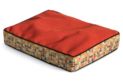 crypton dog bed crypton dog bed medium herringbone cardinal