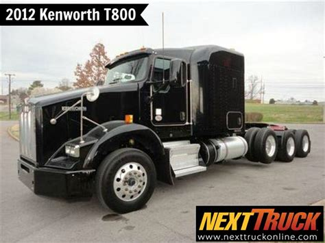 flat top kenworth trucks for sale our featured truck is 2012 kenworth t800 cummins isx15
