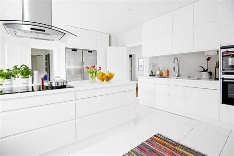 cucina scandinava foto cucina scandinava con cappa aspirante di francesco