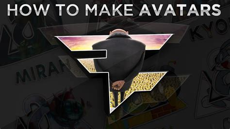 tutorial pop out logo photoshop tutorial creating avi s pop out avatars youtube