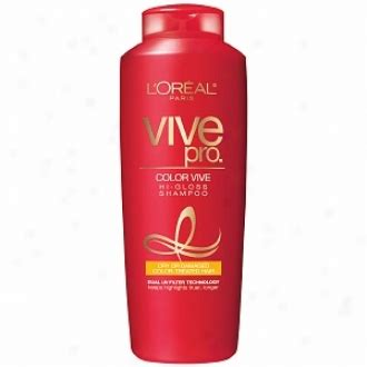 L Oreal Color Vive Shoo loreal vive pro for color treated hair revlon colorsilk