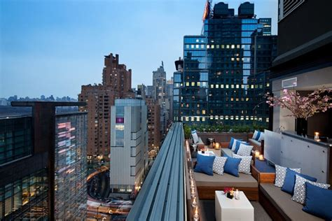 rooftop bars above 6 bar at 6 columbus hotel new york