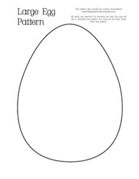 small easter egg template easter egg templates diy easter crafts great for