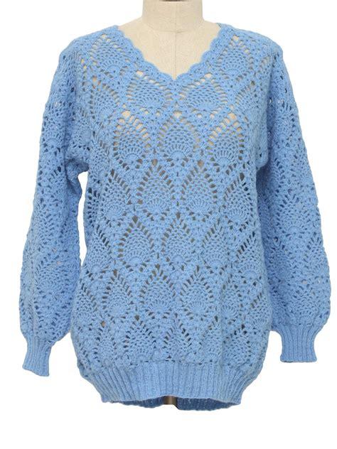 crochet sweater blue crochet sweater jumpers sale