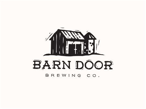 Logo Barn Barn Door Brewing Co Logo By Grant Burke Dribbble