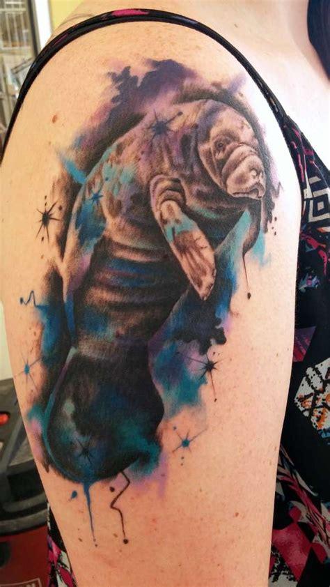 manatee tattoo manatee