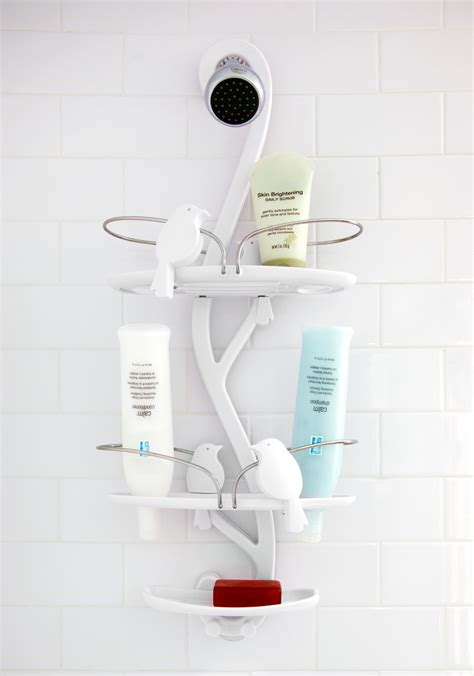 bird bath shower caddy forest animal inspired bathroom decor for the at home