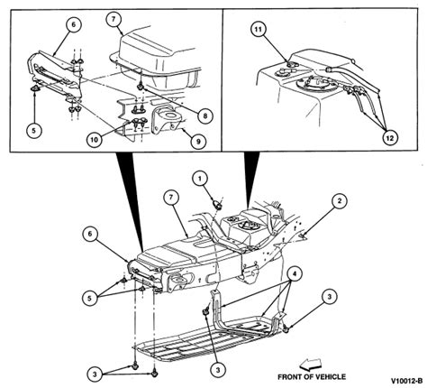 2002 ford ranger parts diagram 2002 ford ranger fuel tank parts diagram ford auto parts