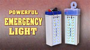how to make led lights how to make a powerful rechargeable led emergency light at