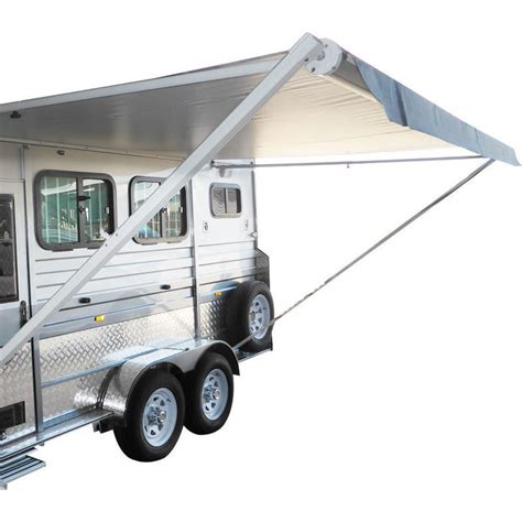 roll out caravan awning retractable roll out caravan side awning 4 0x2 5m buy