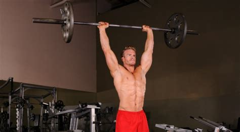 overhead bench press modify your military press for better results muscle