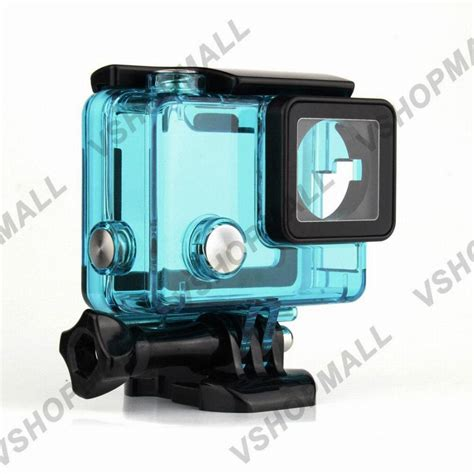Gopro 4 New new gopro 4 skeleton housing side open protective cover with hollow backdoor for