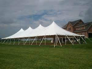 Tent Rental Guelph Tent Rentals 40x100 High Peak Pole Tent Wedding