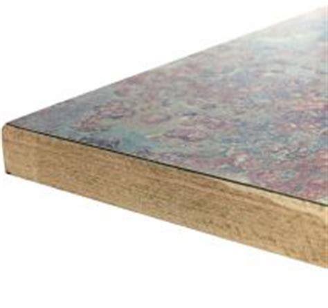 custom laminate overlay wood edge table tops bar