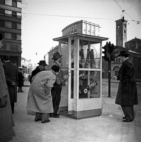 cabina telefonica la prima cabina telefonica 1952 storia