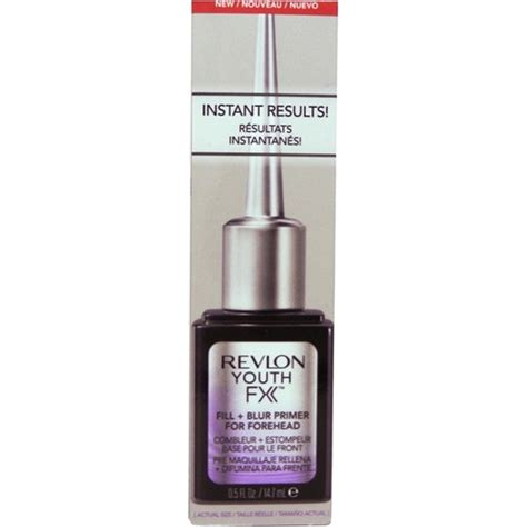 Revlon Youth Fx revlon youth fx fill blur primer for forehead su