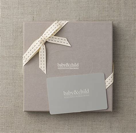Restoration Hardware Gift Card - lucia and thom s baby registry my desires