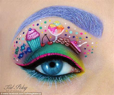 art design mascara artist tal peleg who paints scenes on eyelids now
