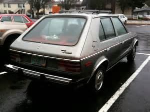 parked cars 1978 dodge omni 5 door hatchback