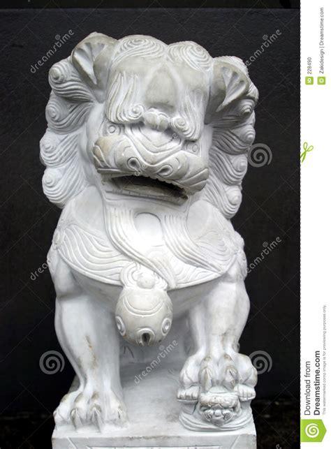 chinesische lions chinesische l 246 we statue stockfoto bild 228490