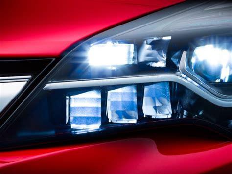 Lu Led Motor X Ride el opel astra 2016 estrenar 225 faros con tecnolog 237 a led