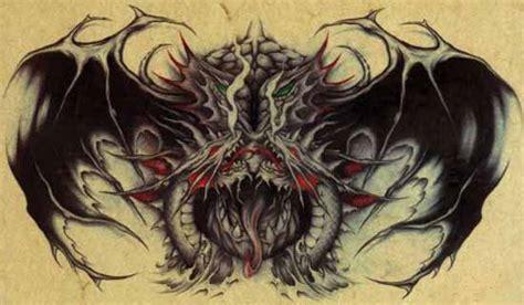 44 gothic dragon tattoos