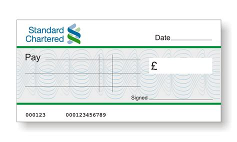 standard chattered bank big branded cheques the home of big presentation cheques