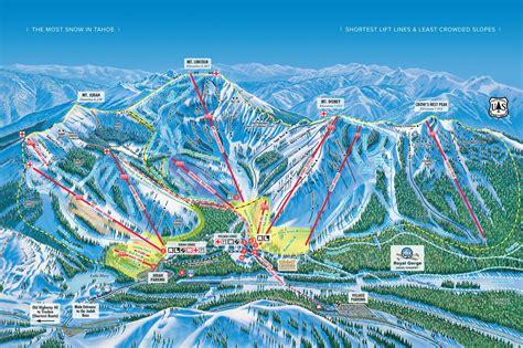usa ski resort map sugar bowl california piste maps