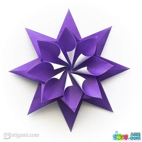 Origami Gifts For Friends - 艾瑞克星星雪花 简单易学星星折纸教程图解 折纸大全 5068儿童网