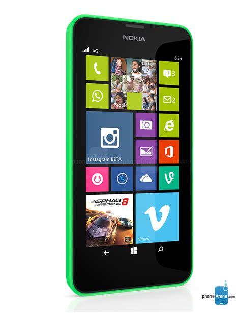 Nokia Lumia 635 specs