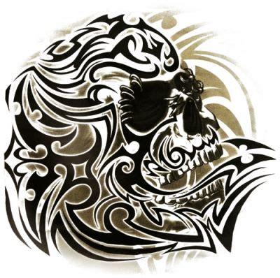 Tshirt Skull Tribal t shirt tribal skull white t shirts rock a gogo