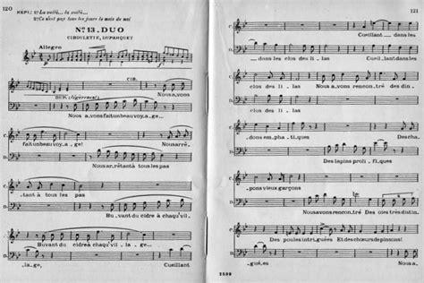 0043073026 au fil des notes volume partition flute manon des sources