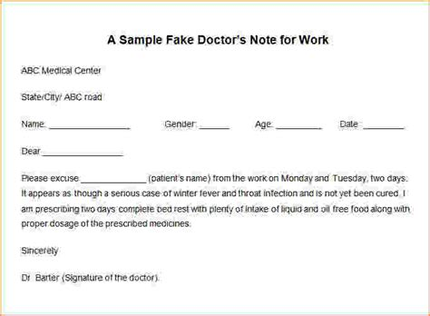 Excuse Letter Generator Free Doctors Note Generator Doctor Notes 05 Jpg Pay Stub Template
