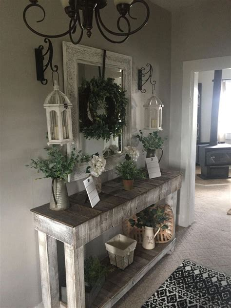 entryway table ideas  greet guests  style