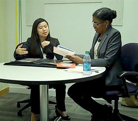 Are Mock Interviews Needed For Mba by Image Gallery Student Interviews