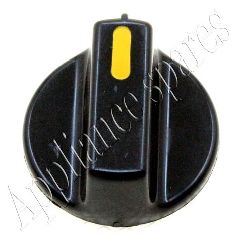 defy timer knob for 7mm shaft yellow stripe