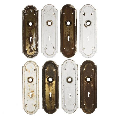 Door Backplates by Fantastic Antique Door Backplates With Arches From