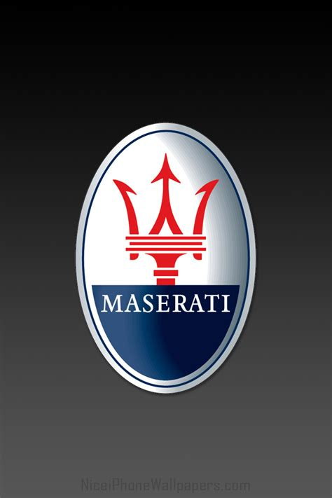 maserati logo wallpaper iphone maserati hd logo black iphone 4 and 4s wallpaper